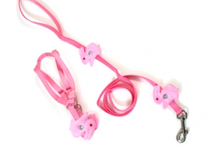 Cute Rabbit Design Harness & Leash Set for Dog