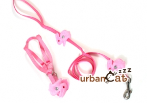 Cute Rabbit Design Harness & Leash Set for Cat