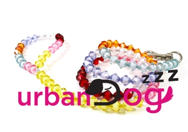 Acrylic Crystal Beaded Dog Leash